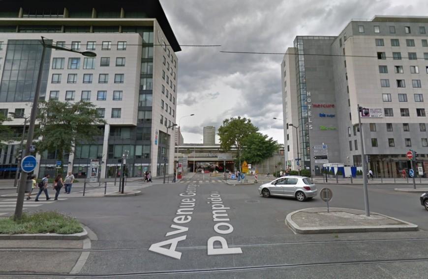 Part-Dieu : Fermeture de l'avenue Georges Pompidou ce lundi jusqu'en 2022