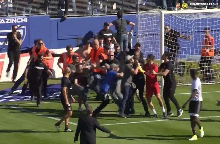 Bastia-OL: les joueurs lyonnais agressés à l'échauffement par des ultras bastiais
