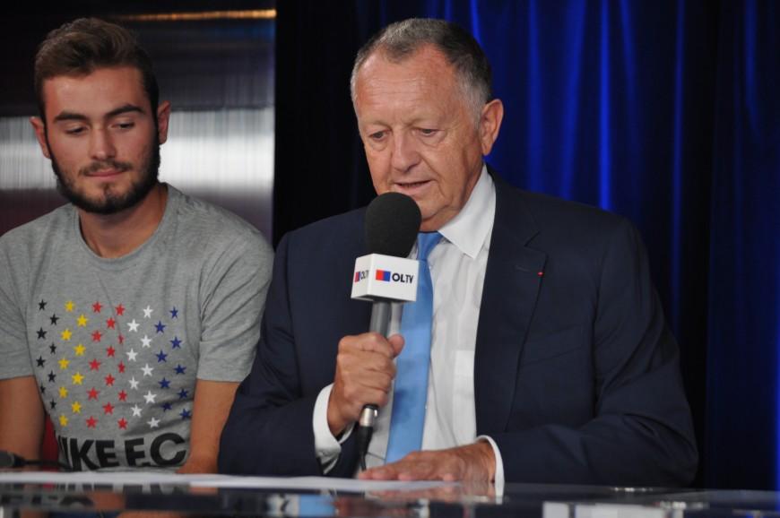 Jean-Michel Aulas satisfait de la vente de Martial à Manchester United