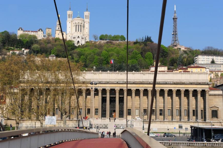 L'ancien palais de justice de Lyon reprend des couleurs
