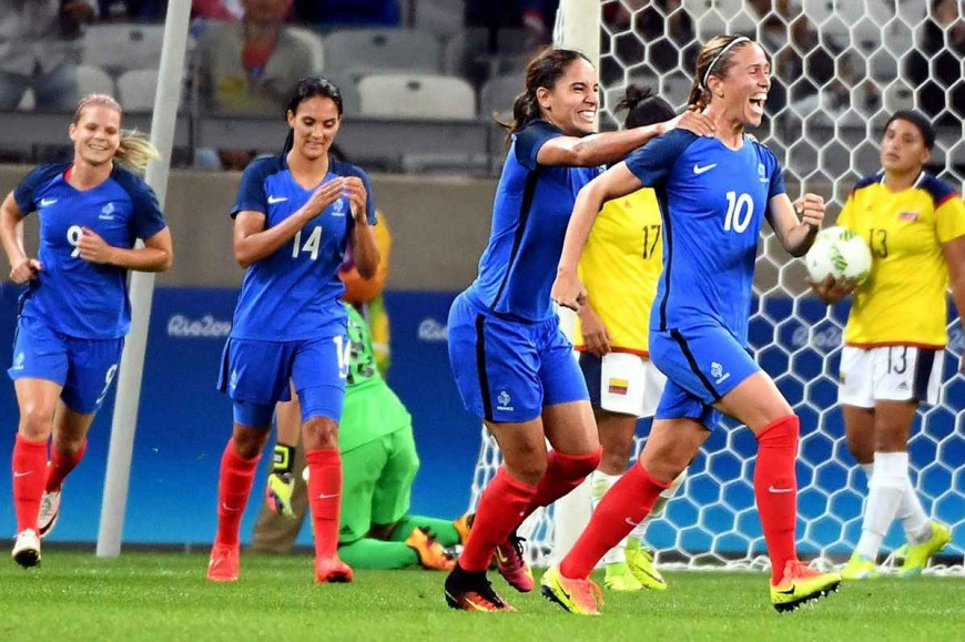 JO : les Bleues écrasent la Colombie pour leur début de tournoi (4-0)