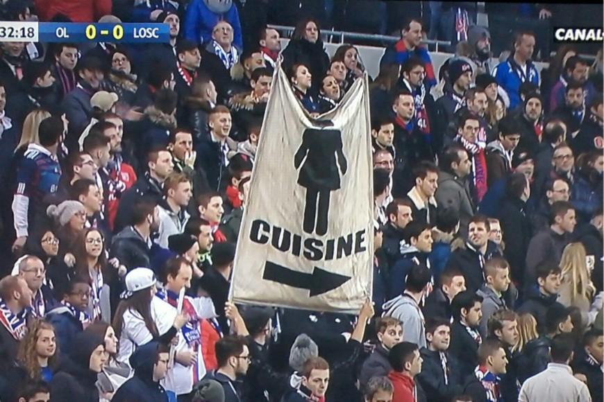Lille invite les femmes au stade en réponse à la banderole sexiste du Parc OL
