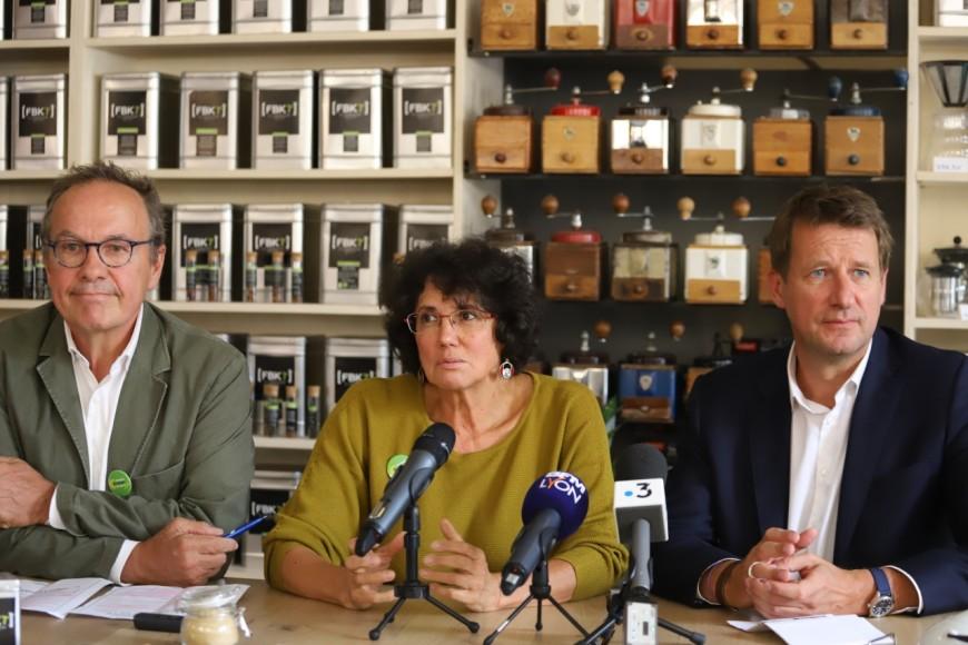 Métropolitaines 2020 : Yannick Jadot venu soutenir EELV pour le lancement de la campagne