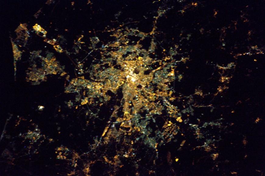 Thomas Pesquet s'est trompé de ville en voulant photographier Lyon depuis l'espace