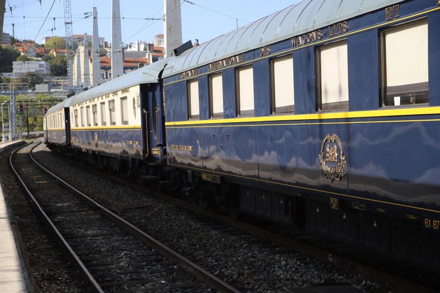 L'Orient-Express annoncé en gare de Lyon-Perrache