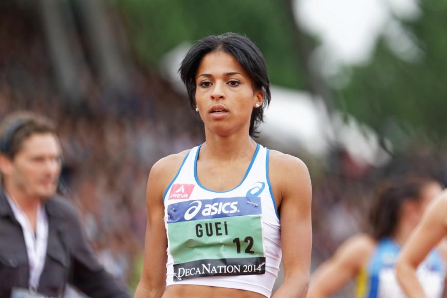 Floria Gueï forfait pour les Mondiaux d'athlétisme à Londres