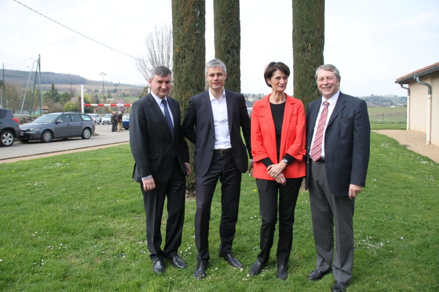 Départementales dans le Rhône : Wauquiez, l'atout sorti de la poche de l'UMP ce jeudi