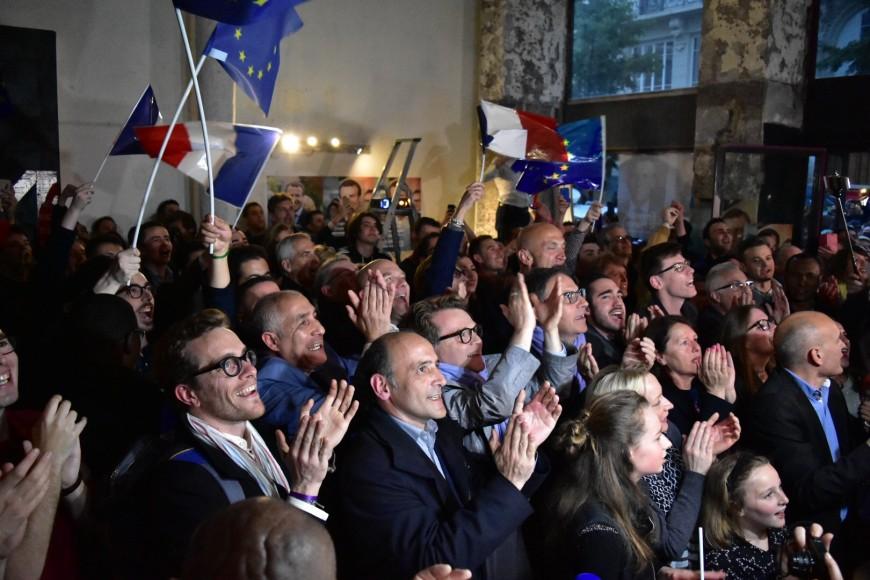 Présidentielle : Macron en patron à Villeurbanne (officiel)
