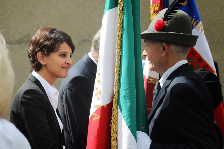 Najat Vallaud-Belkacem, ministre la plus en vue cette semaine