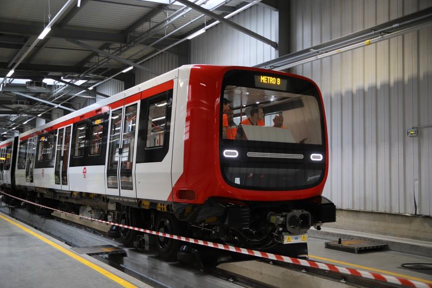 Nouvelles rames de métro à Lyon : plus de capacité et plus de confort