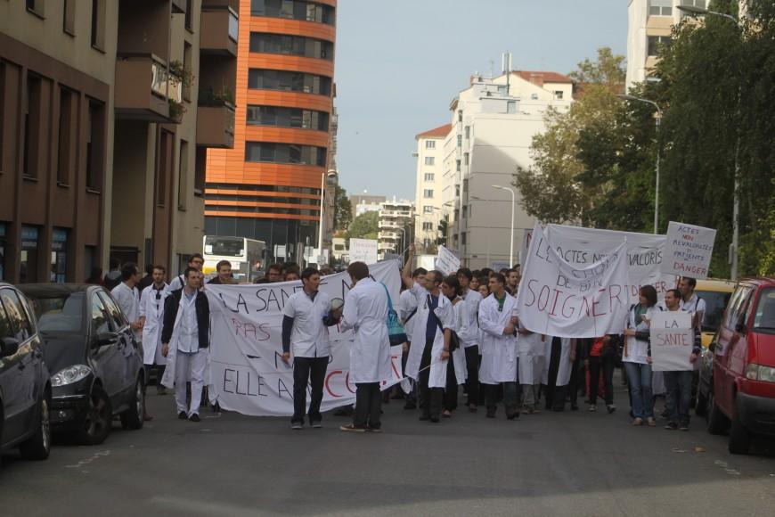 Santé: une grève des internes ce mercredi à Lyon