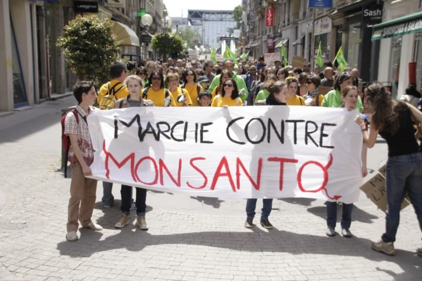 2000 personnes dans une marche contre Monsanto ce samedi à Lyon
