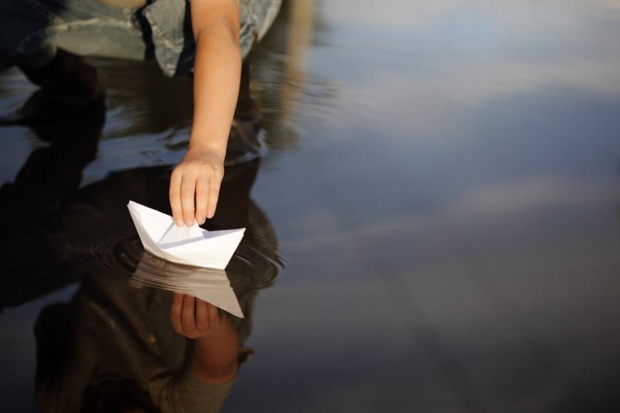 Une course de bateaux en papier organisée ce dimanche à Lyon