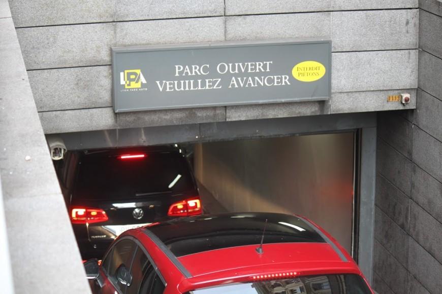 Le parking Croix-Rousse fermé tout l'été pour travaux
