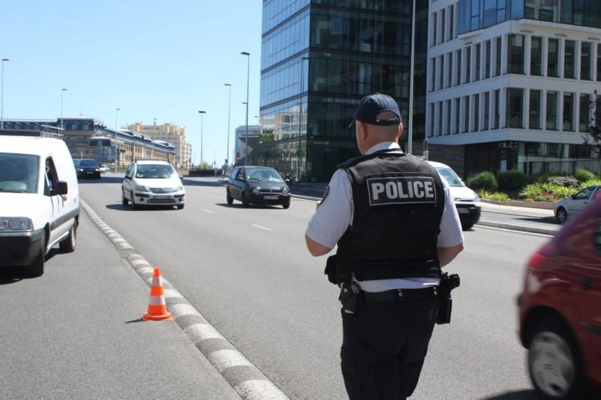 Une quinzaine d'infractions relevées à Lyon lors d'un contrôle de police