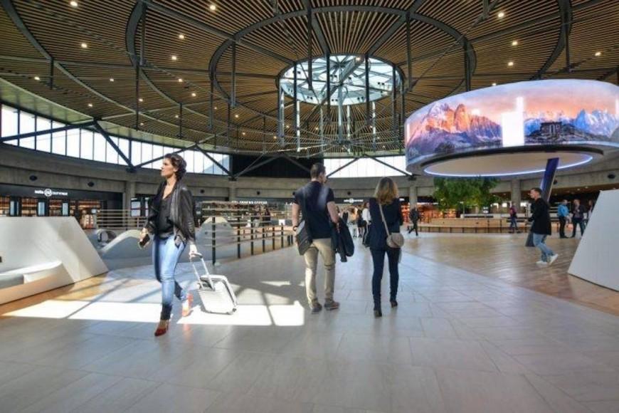 Le Terminal 1 de l'aéroport St Exupéry officiellement inauguré ce samedi