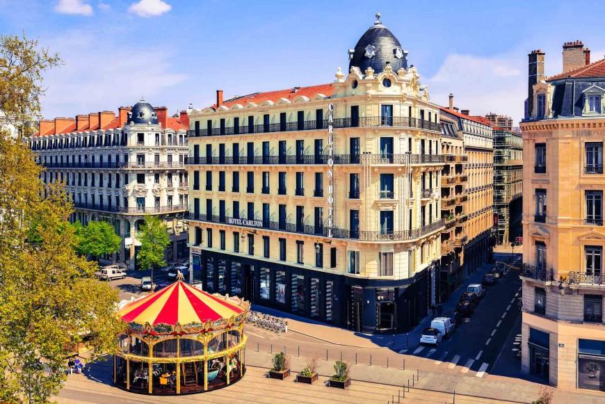 Lyon : l'hôtel Carlton vendu par ANF Immobilier