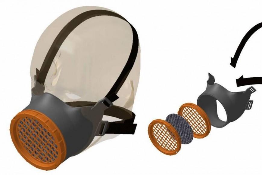 Coronavirus : des Lyonnais produisent un masque réutilisable 100 fois