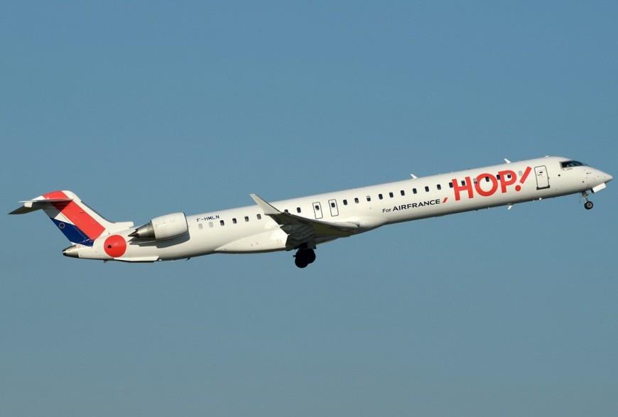 Hop!, la Corse à nouveau à portée d'ailes de Lyon dès avril
