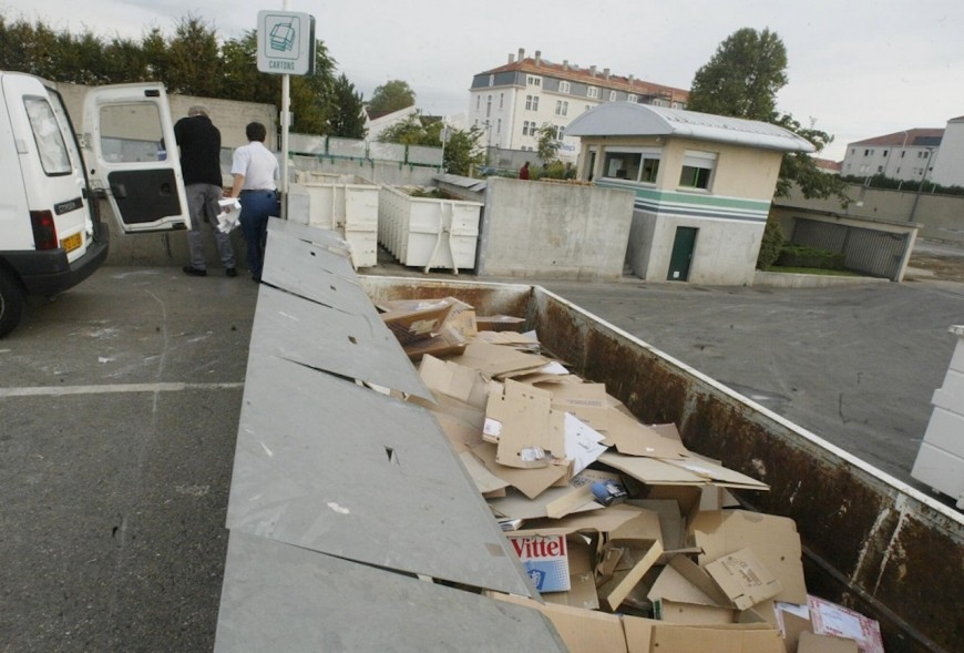 La Métropole de Lyon rappelle les strictes conditions d'accès aux déchèteries