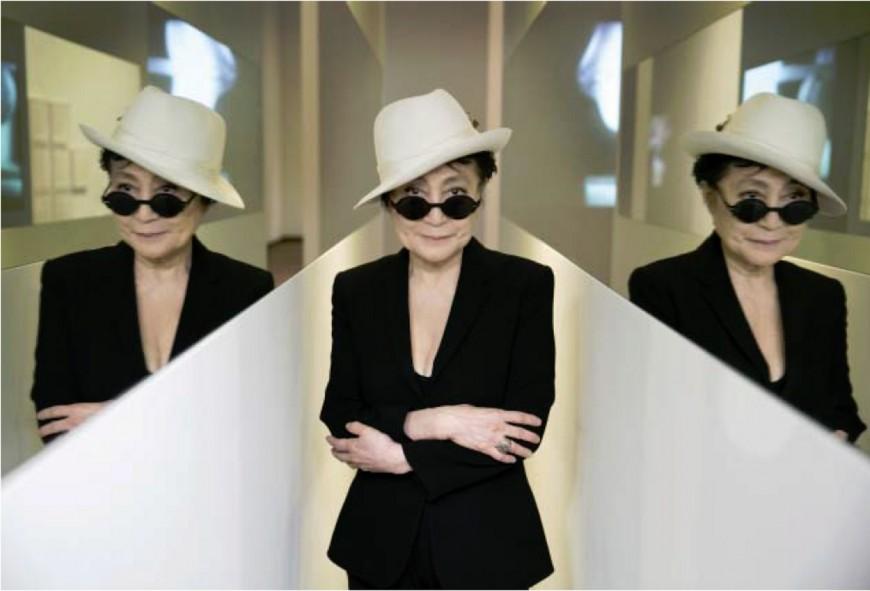 Yoko Ono exposera en 2016 au MAC de Lyon