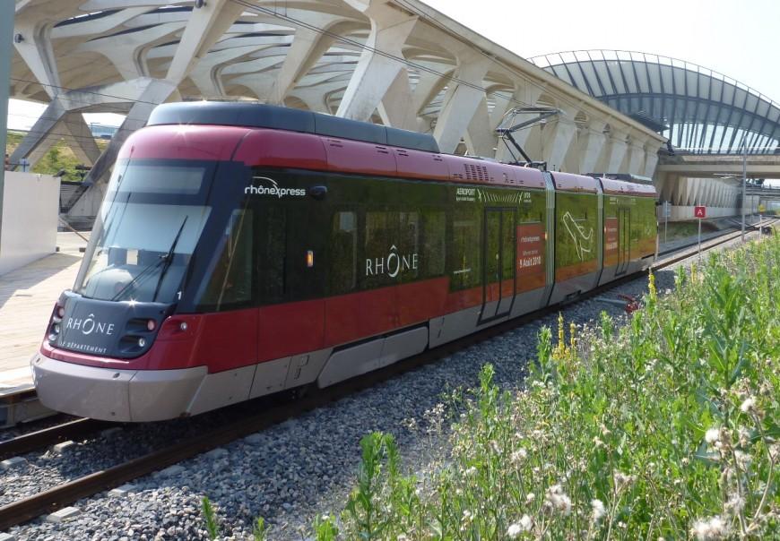 Rhônexpress enfin sur les rails