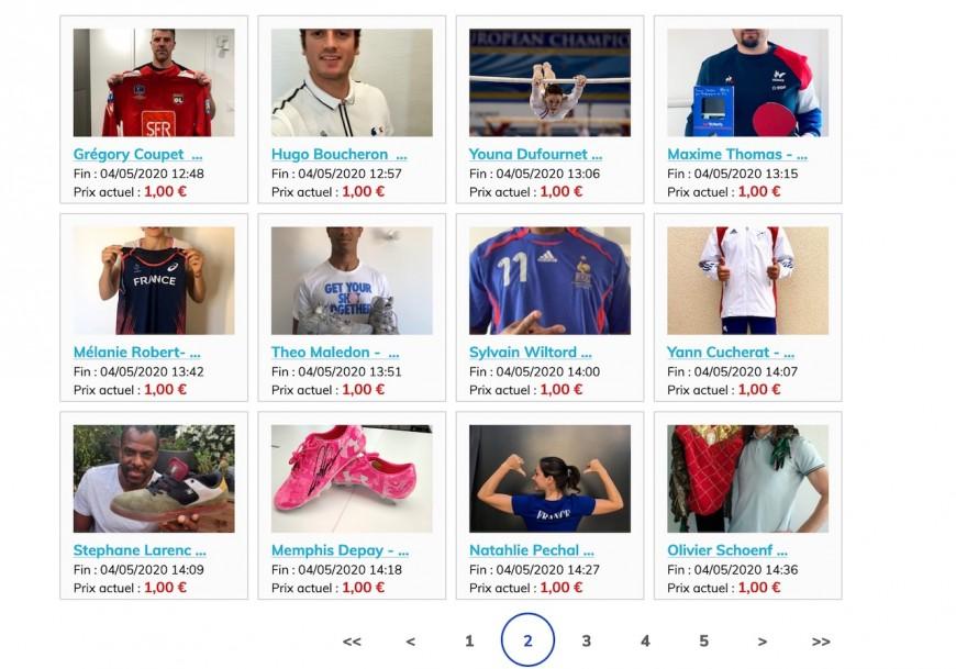 La Ville de Lyon lance une vente aux enchères de biens de sportifs au profit des HCL