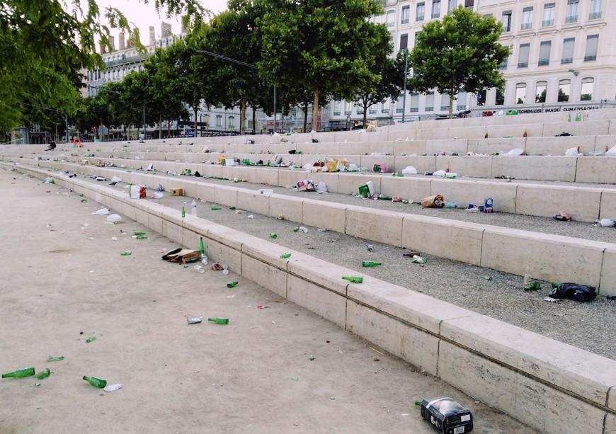 Propreté des berges du Rhône: plus de poubelles et un dispositif de nettoiement renforcé