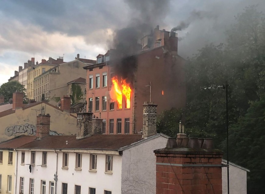 Incendie à la Croix-Rousse: un jeu d'enfant qui a mal tourné à l'origine des flammes ?