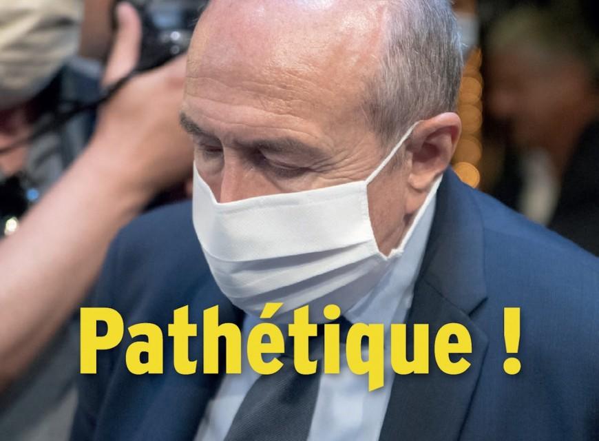 La sortie pathétique de Gérard Collomb en Une de LyonMag !