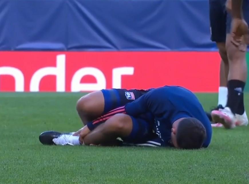 Ligue des Champions : Aouar (OL) aligné malgré le choc reçu à l'entraînement ?