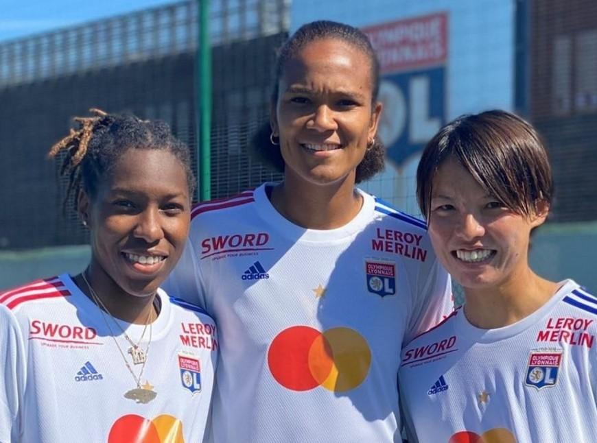 OL féminin: Mastercard devient le sponsor maillot en championnat