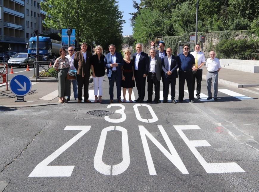 Oullins : première ville zone 30 de la Métropole de Lyon - VIDEO