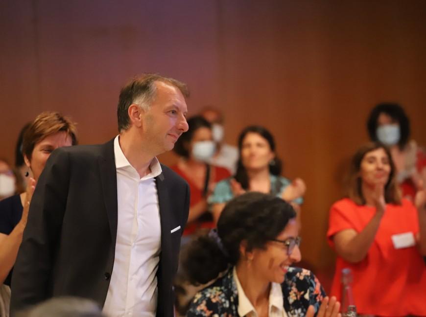 Métropole de Lyon : le discours du nouveau président, Bruno Bernard (EELV)