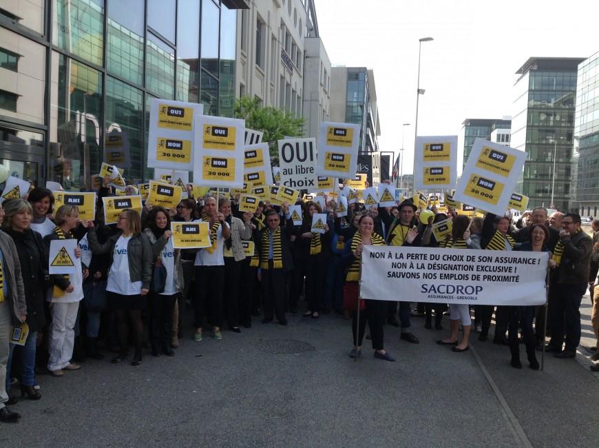 Lyon : les courtiers en assurance indépendants manifestent ce lundi