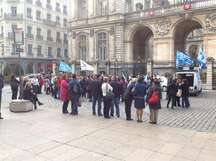 Grève des cantines à Lyon : les agents de la ville mobilisés