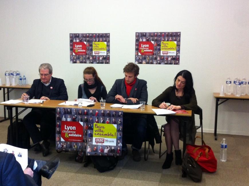 Municipales :  Lyon Citoyenne & Solidaire présente ses chantiers participatifs