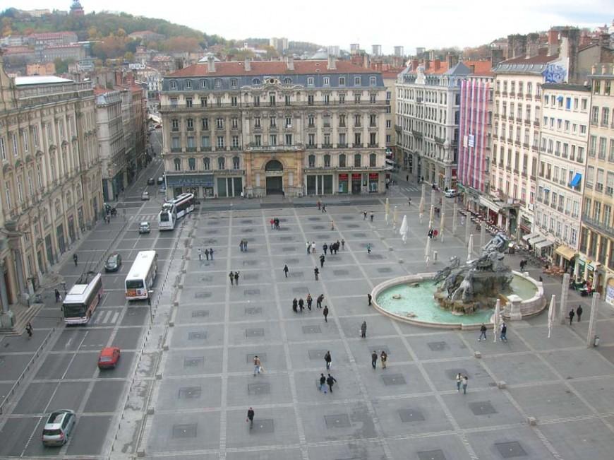 Rénovation de la place des Terreaux à Lyon : c'est parti pour 6 semaines de travaux