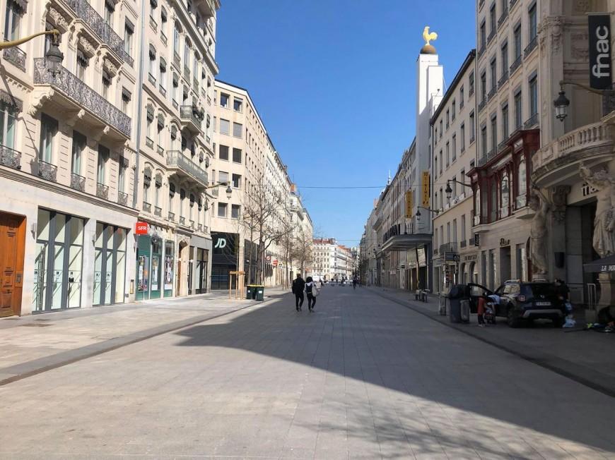 Confinement : jusqu'à -70% de voitures et -95% de piétons dans la Métropole de Lyon
