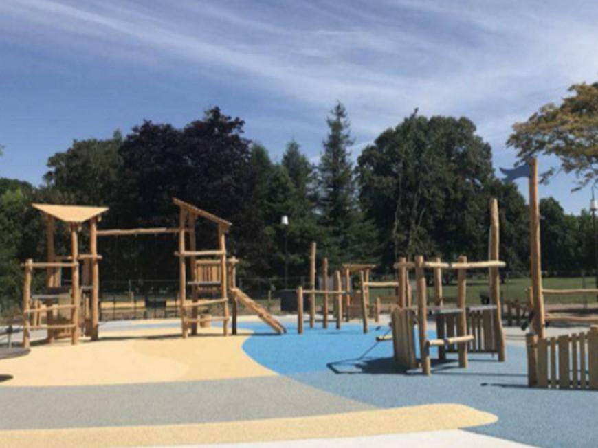Deux nouvelles aires de jeux au parc de la Tête d'Or