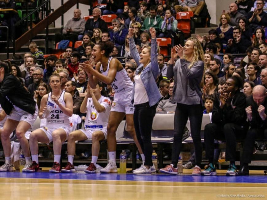 LFB : victoire de prestige pour le Lyon ASVEL Féminin face à Basket Landes (59-46)