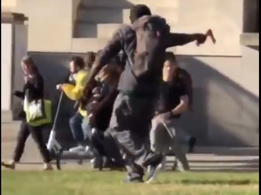 Lyon : il veut attaquer un commissariat à la hache pour récupérer ses affaires - VIDEO