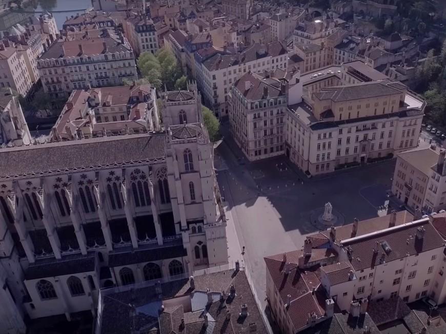 Lyon : une nouvelle vidéo tournée par un drone durant le confinement
