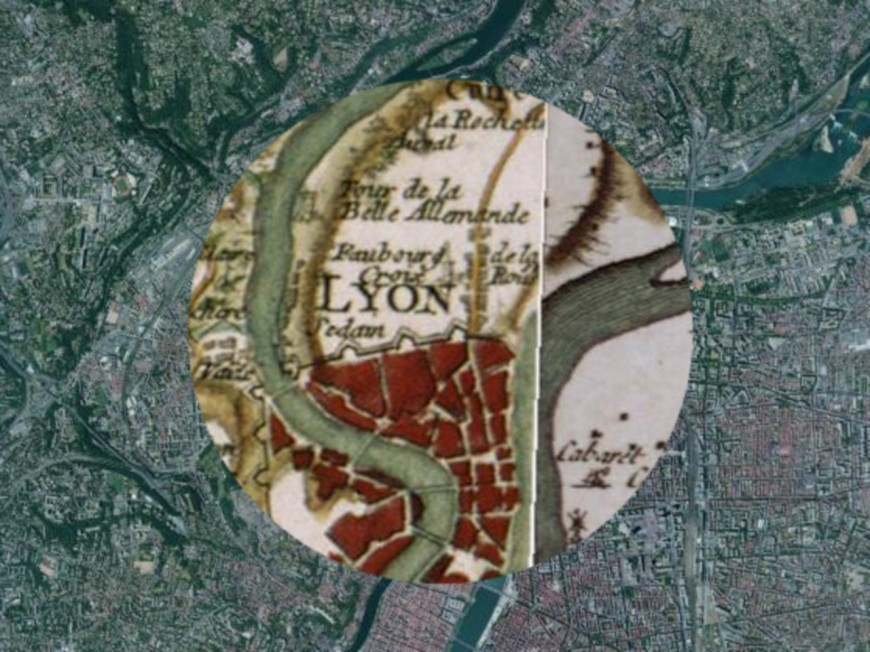 Remonter le temps à Lyon grâce aux nouvelles cartes de l'IGN