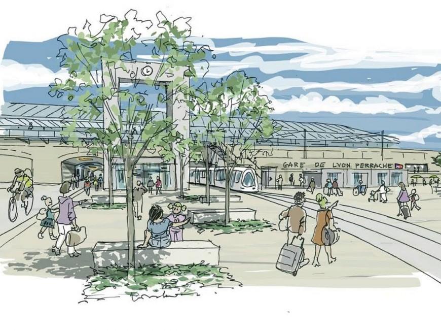 Lyon : la gare Perrache s'offre une remise à neuf