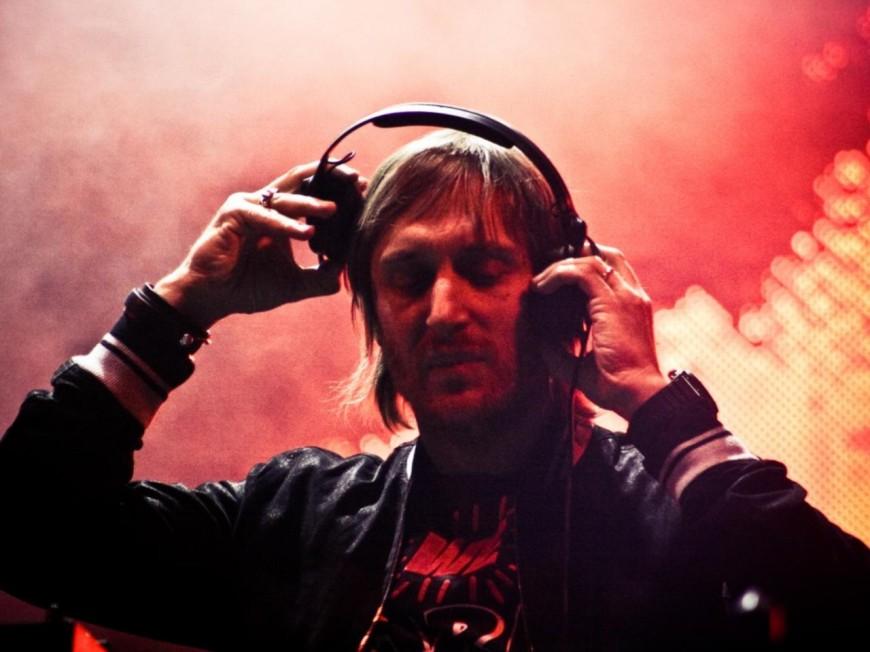 David Guetta en concert à Lyon en 2016