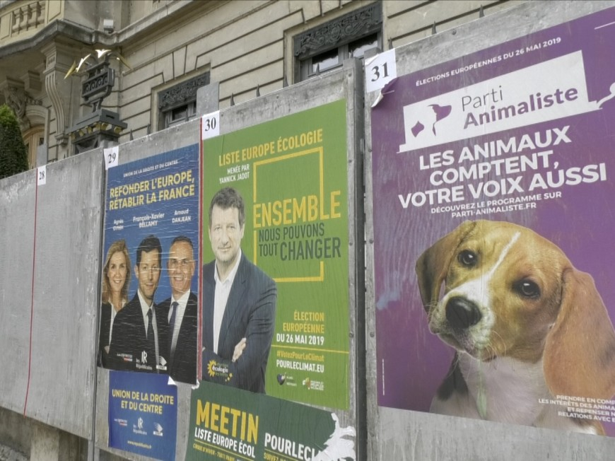 Les Lyonnais s'intéressent-ils aux élections européennes ? VIDEO