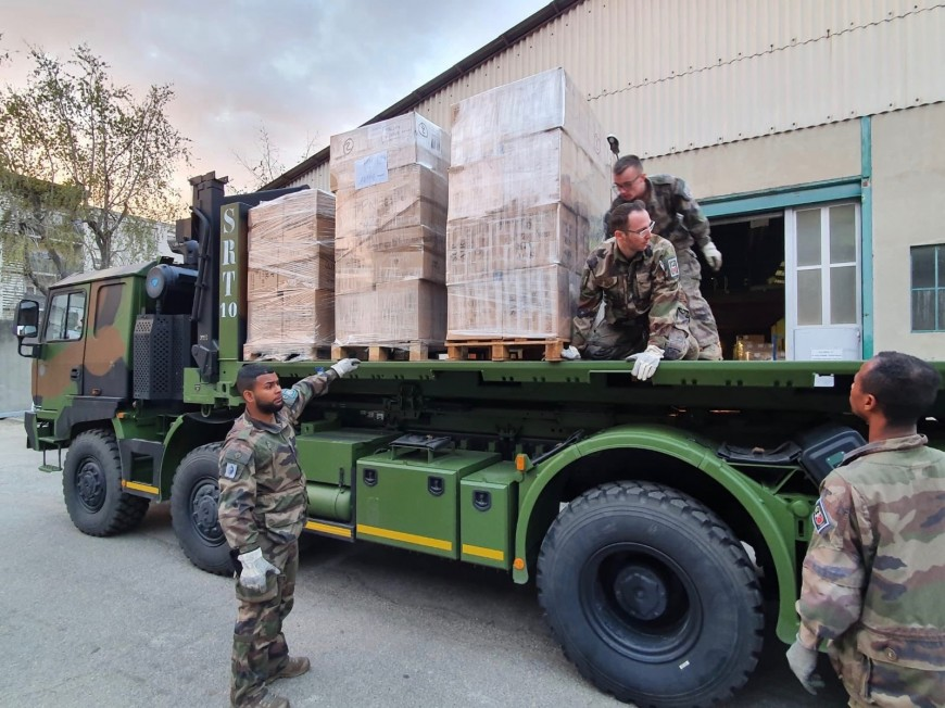 Rhône : les militaires de la région toujours mobilisés contre le Covid-19