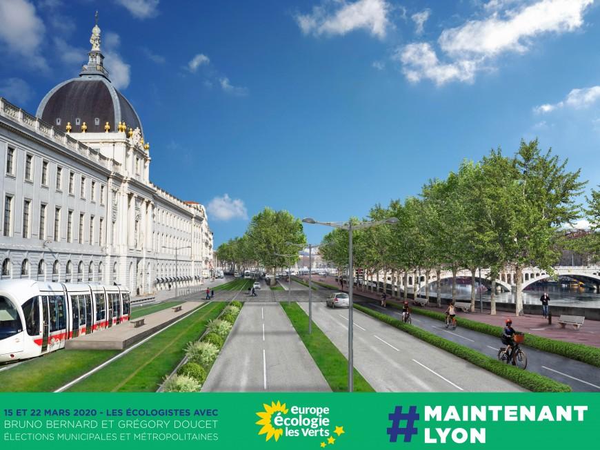 Les écologistes veulent reconquérir les quais de la rive droite du Rhône - VIDEO