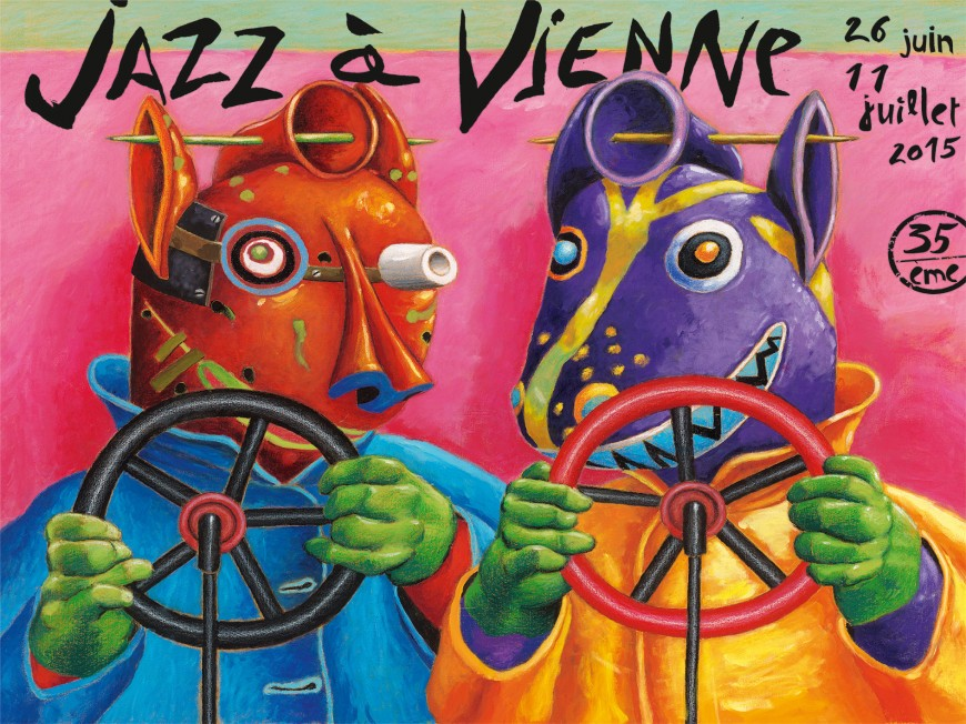 Jazz à Vienne: Sting, George Benson, Dee Dee Bridgewater…la programmation 2015 dévoilée